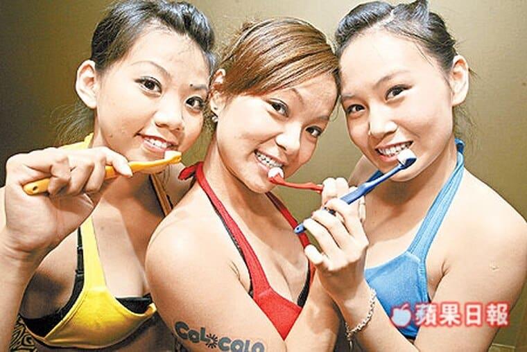 刷牙用力太猛壞五顆牙-柏登牙醫-貝氏刷牙1
