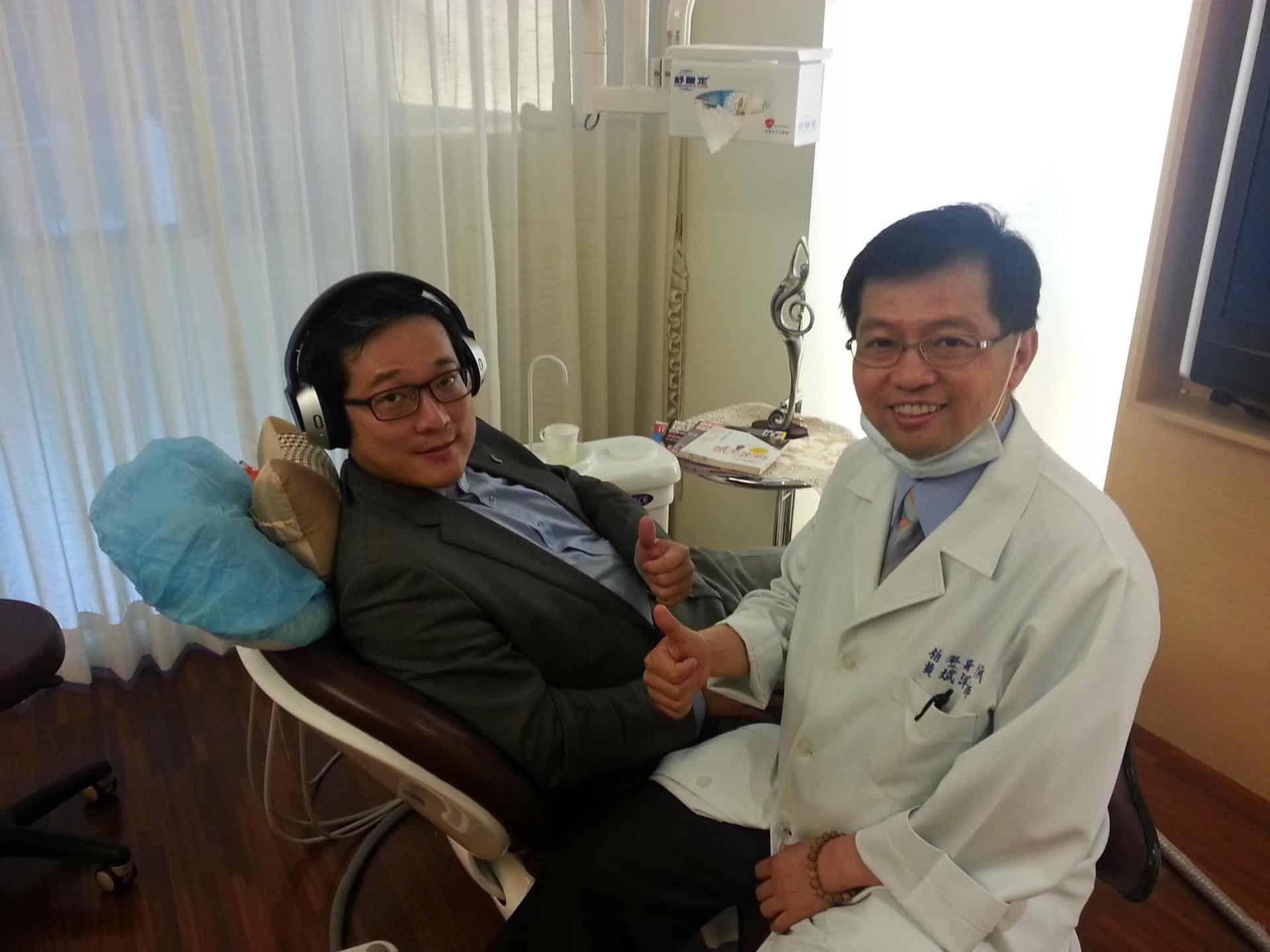 沈寶仁的口腔SPA服務舒服的體驗-柏登牙醫口腔SPA見證
