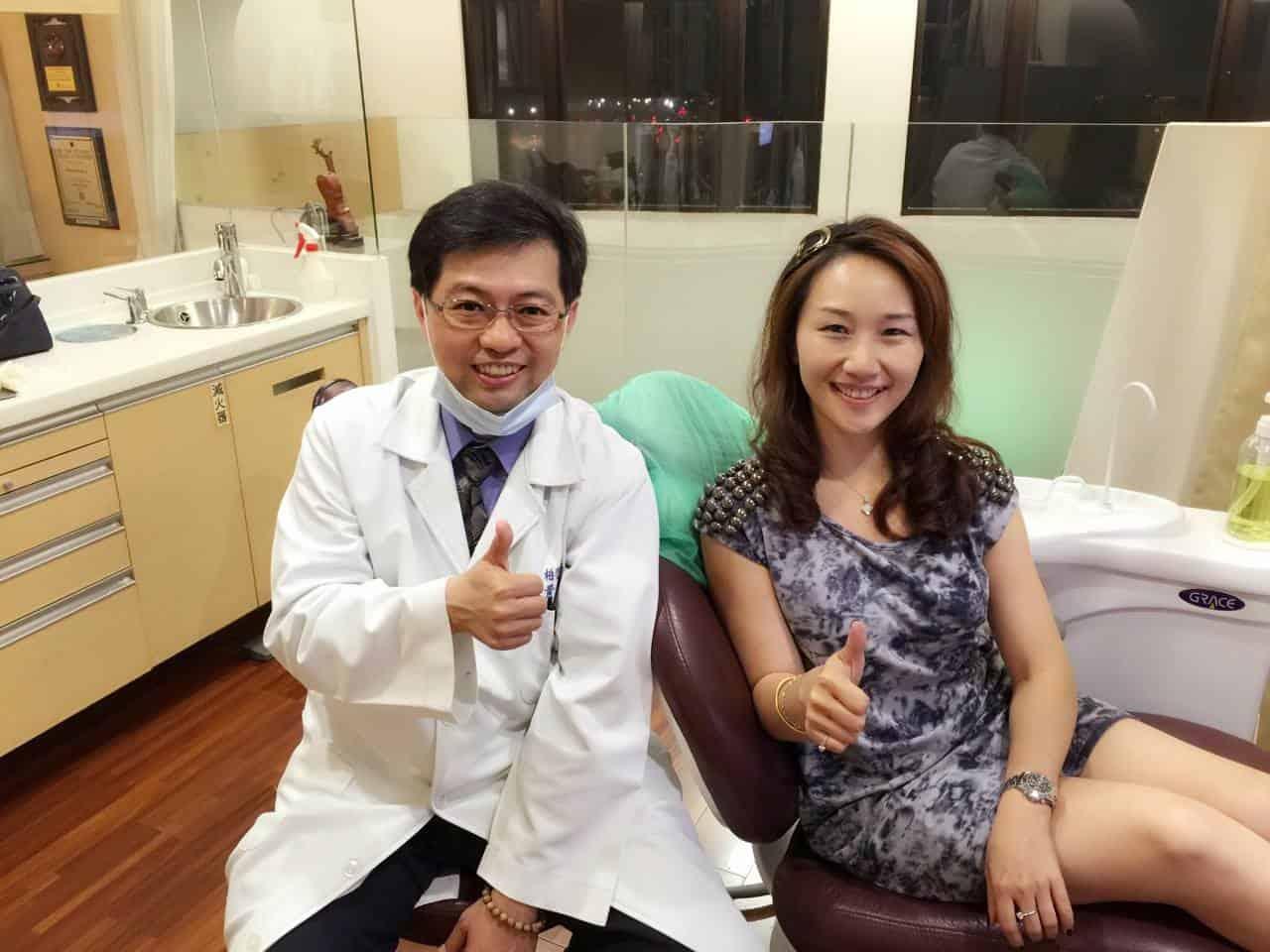 潘麗君的牙齒敏感,終於下定決心到眾多好友推薦的柏登牙醫診所,做「口腔健檢SPA」3