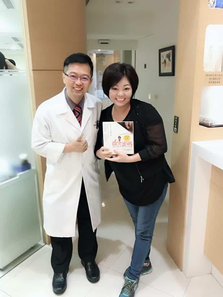 英花感謝專業有耐心的柏登牙醫,再造微笑美齒2