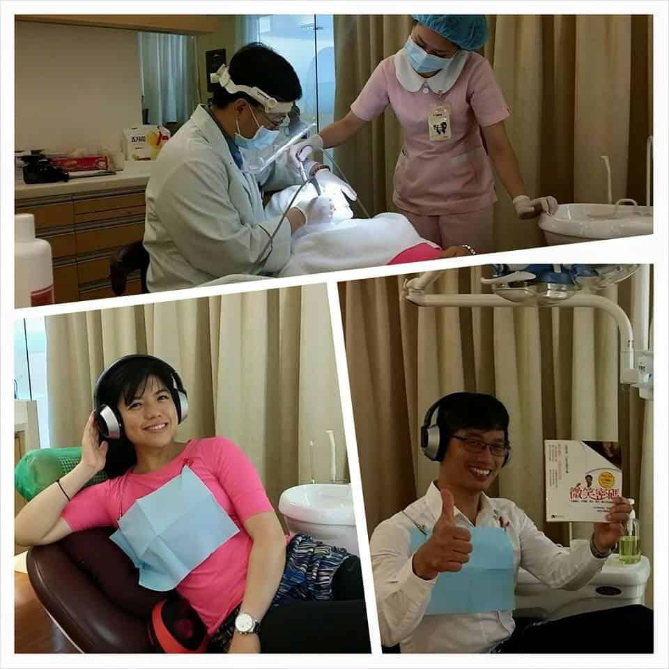 鄭雲龍和愛妻一起來體驗柏登牙醫的口腔SPA,邊聽音樂邊讓你的牙齒恢復微笑曲線2