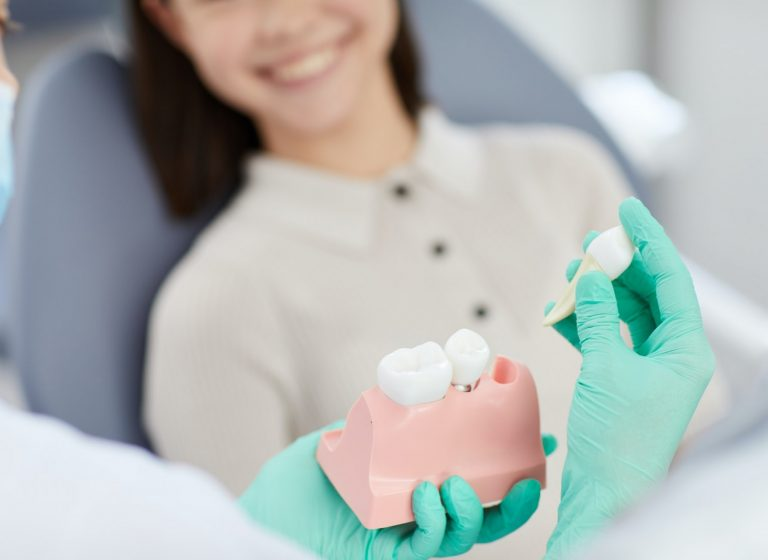 Dentist Explaining Tooth Extraction