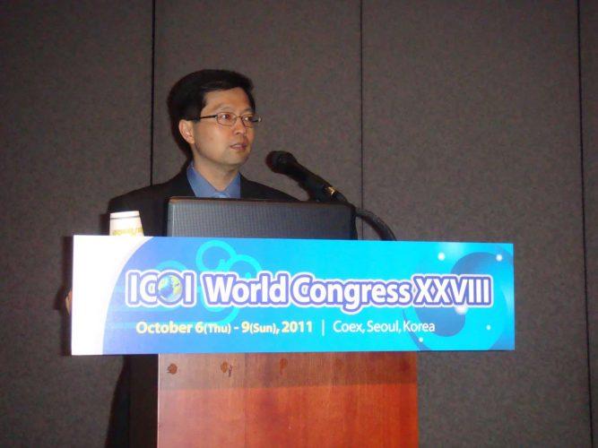 2011-1008-國際口腔植體學院ICOI世界年會講師-柏登牙醫專業學術感謝狀